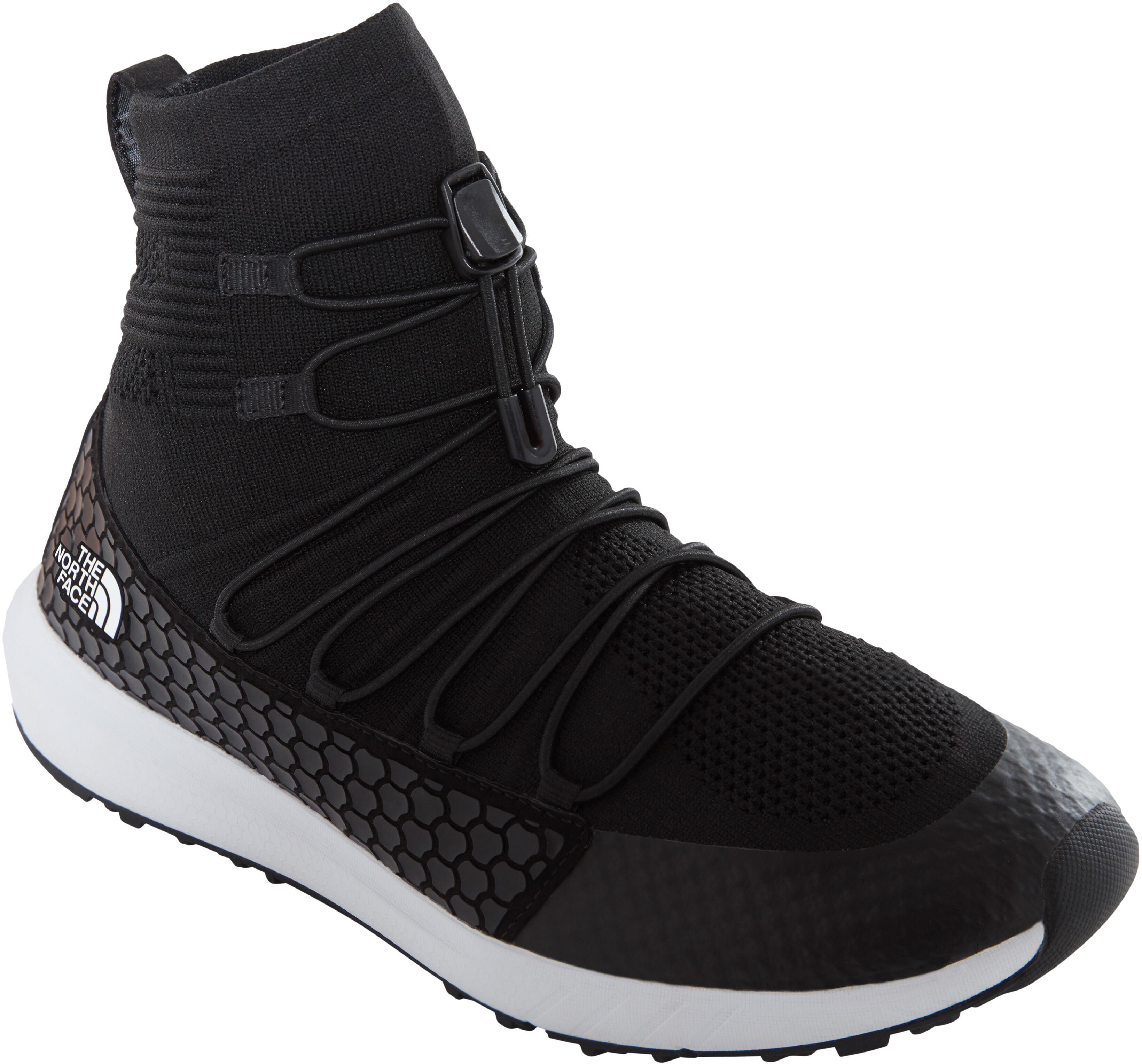 bea89061cc The North Face Touji Mid Lace Shoes Men tnf black/tnf white at ...